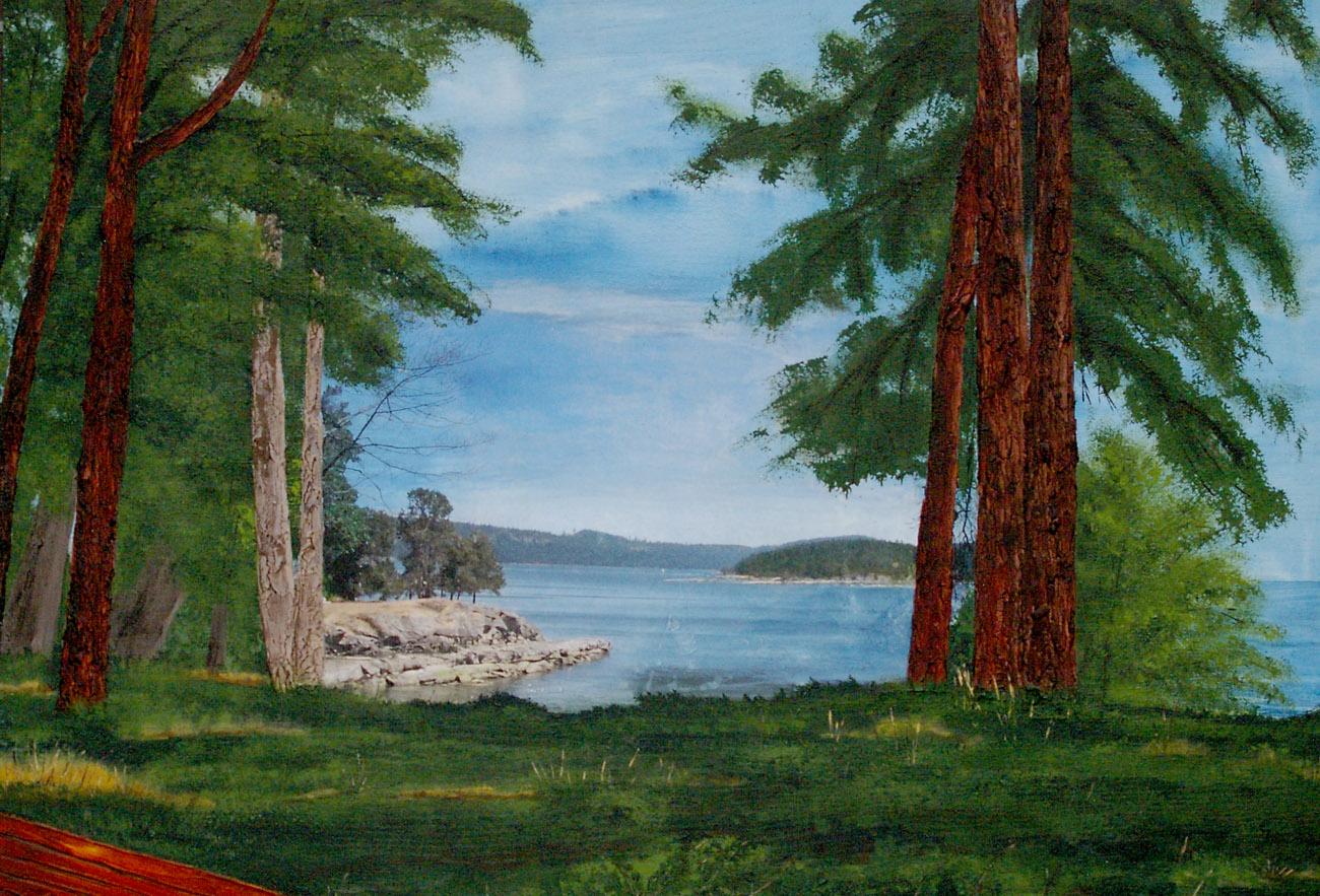Sandra Bowen DeCourcy Island View