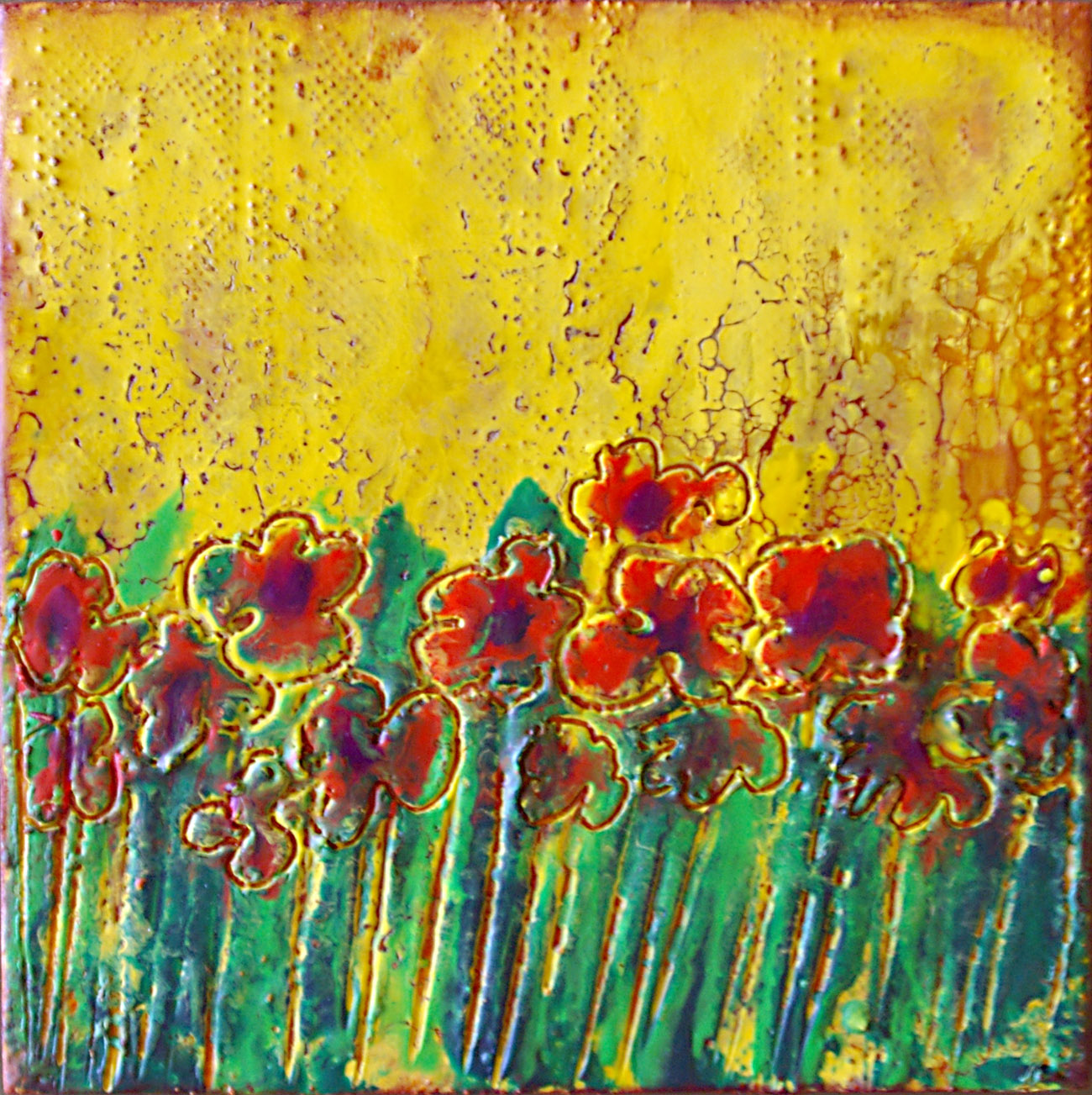 Sandra Bowen Poppies
