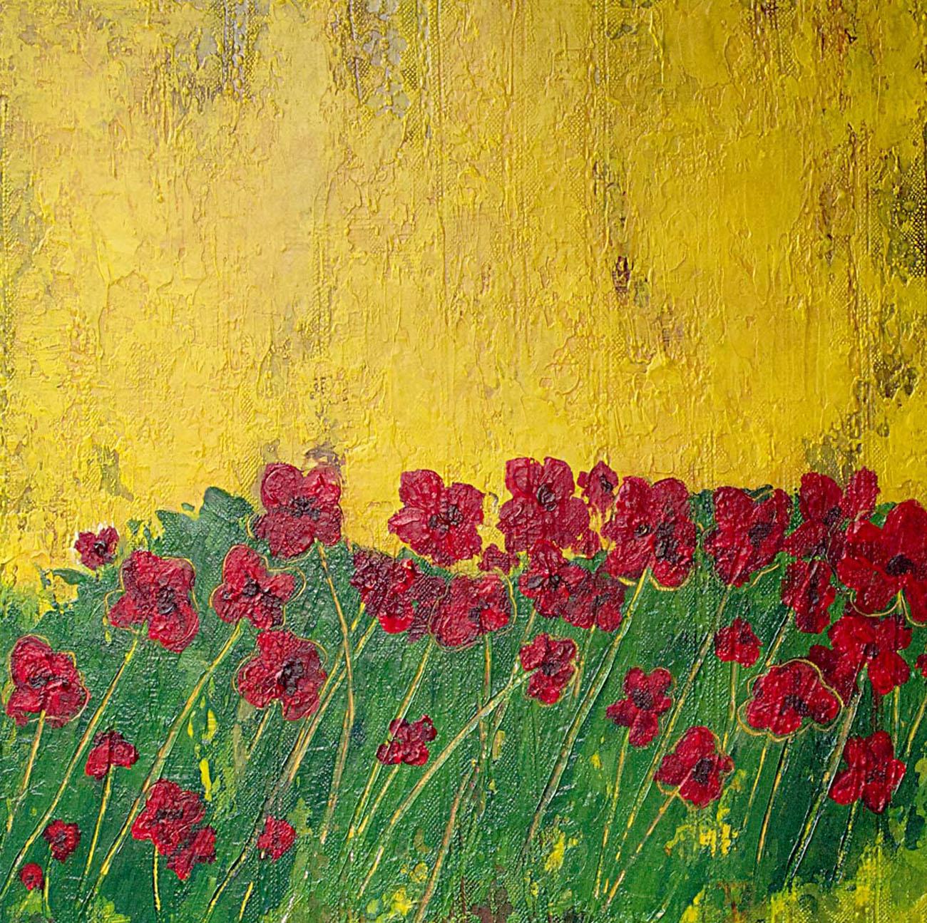 Sandra Bowen Poppies II